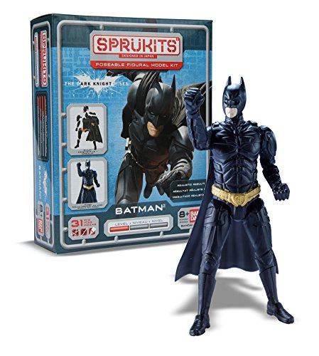 Spielzeug Bandai Batman (SpruKit Level 1 Batman Dark Knight Rises Figur [UK Import])