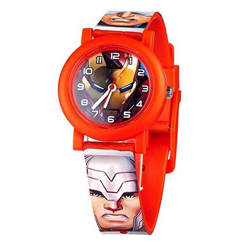 Offizielle Avengers Alter von Ultron Characters All Over Print QA Uhren Armbanduhr