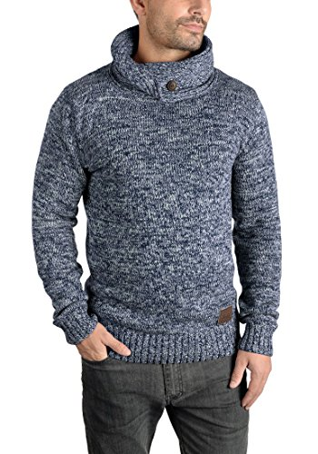 SOLID Prentice - Pull en Maille - Homme Insignia Blue (1991)