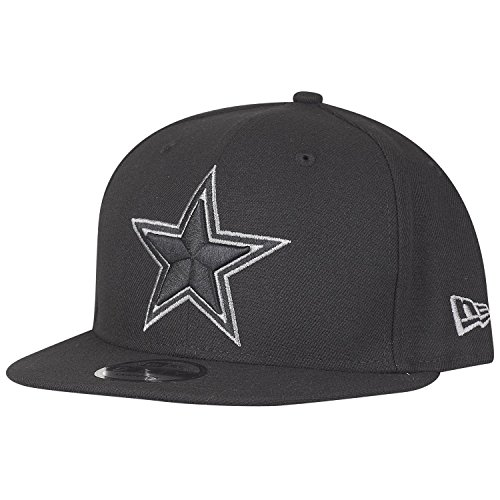 New Era 9Fifty Snapback Cap - Dallas Cowboys schwarz Graphit