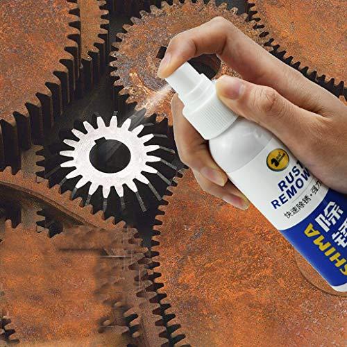 Jamicy® Hocheffektiver Rostumwandler/Rostentferner Gel 100mL | Entroster für Auto, Fahrrad, Metall, Edelstahl, Chrom