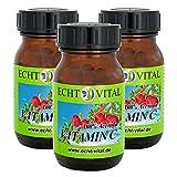 Natürliches - ECHT VITAL Vitamin C - 100 % Acerola-Fruchtpulver