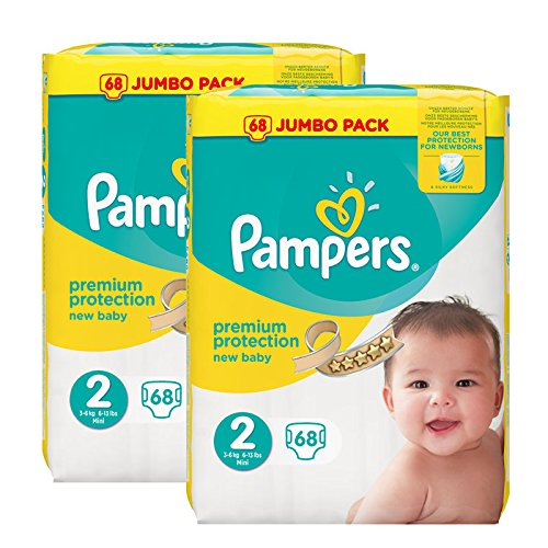 pampers-new-baby-nappies-jumbo-pack-taglia-2-2-x-68-pezzi