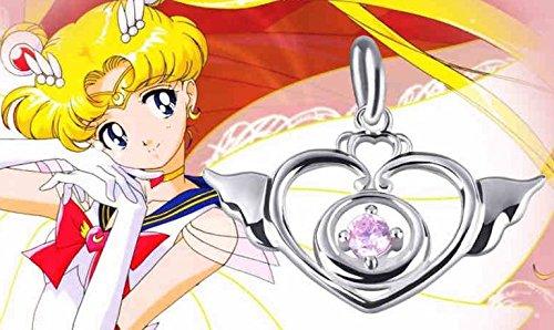 Skylynn--Anime Sailor Moon Spielzeug Halskette Zubehör S925 Silber Perfekt für (Kostüm Moon Zubehör Sailor)