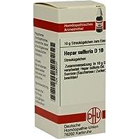HEPAR SULF D10 10g Globuli PZN:2890707 preisvergleich bei billige-tabletten.eu