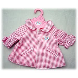 Zapf Creation Baby Born Manteau Rose