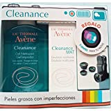 Avene Cleanace Pack Cleanance Gel Limpiador 200 mililiters Clenanace Mat 50 Mililiters Regalo 3 Lentes para Movil