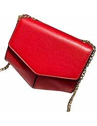 Red : Hunpta Women Messenger Bags Slim Crossbody Shoulder Bags Handbag Small Body Bags