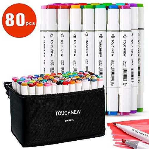 TOUCHNEW 80 rotuladores de colores Manga Graffiti