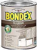 Bondex Öl-Lasur 0,75l - 391315 weiss