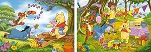 Clementoni 24502.4 - Puzzles de 20 piezas, dos diseños de Winnie the Pooh