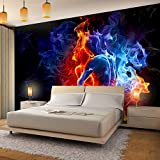 Vlies Fototapete 'Fire & Ice' 352x250 cm - 9048011b RUNA Tapete