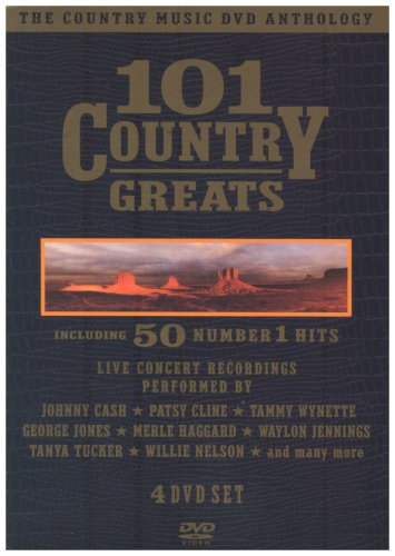 The Country Music DVD Anthology - 101 Country Greats - Including 50 Number 1 Hits [UK Import] (Hank Williams-boxset)