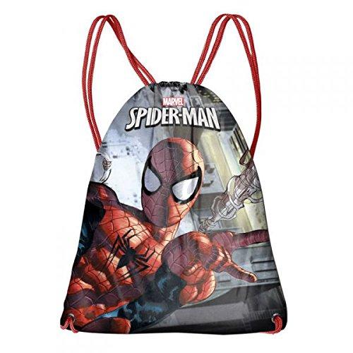 Tasche Saiten für das Gymnasium, 44cm, Rot (Spider-man Schlafsack)