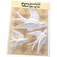 Set de 3 golondrinas volantes Sass & Belle, decoraciones de pared de cerámica