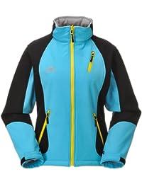 COX SWAIN TITANIUM 3-Lagen Damen Softshell Jacke FOREST - 15.000mm Wassersäule 10.000mm atmungsaktiv