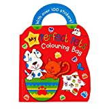 Children's Carry Colouring Book - My Perfect Pets - With Sticker Sheet