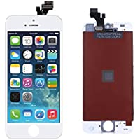 LCD Touch Screen, DeYoun® Ricambio Schermo Display Completo LCD Assembly Digitizer per iPhone 5 (Bianca)