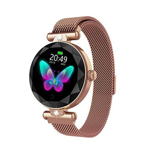 Showzon S9 wasserdicht smart Watch Bluetooth Sport smartwatch Frauen Uhren pulsmesser blutdruck magnetische Aufladung