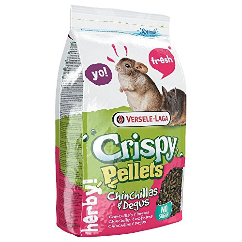Versele Laga Crispy Pellets - Chinchillas & Degus - 1 kg -