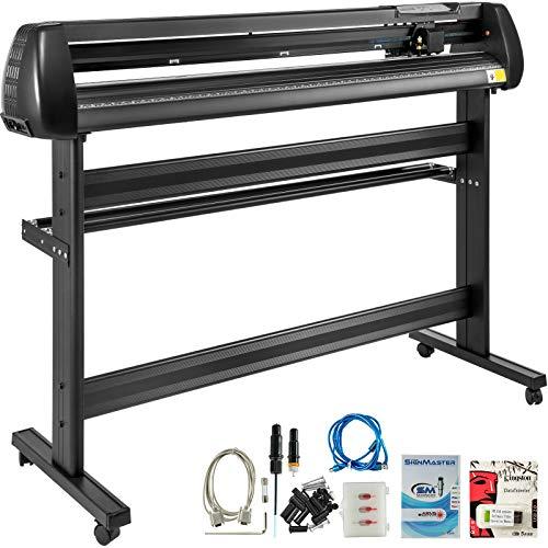 VEVOR 53 Inch vinyl schneideplotter vinyl cutter plotter 1350mm Slogan Cutting Plotter basic vinyl cutter machine Singmaster Software (1350mm)