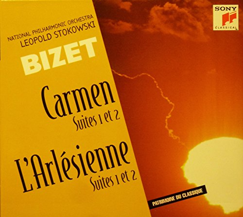 Georges Bizet: Carmen 1 & 2 , L'Arlésienne Suites