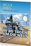 Brockhaus Literaturcomics - Weltliteratur im Comic-Format: In 80 Tagen um die Welt