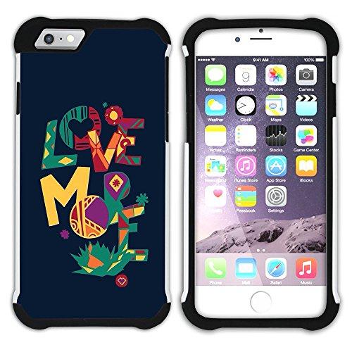 Graphic4You Favorite Things In Life Englisch Zitat Nachricht Hart + Weiche Kratzfeste Hülle Case Schale Tasche Schutzhülle für Apple iPhone 6 Plus / 6S Plus Design #3