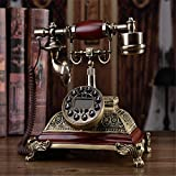 Vintage Retro Festnetz Telefon Haus Haus Telefon Handset Schnur Maschine , A