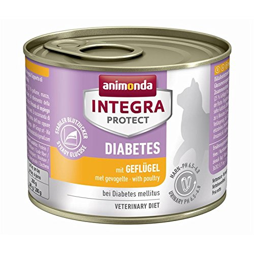 Animonda Integra Protect Diabetes mit Geflügel | 6x 200g