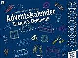 FRANZIS Adventskalender Technik und Elektronik 2019 | 24 spannende Experimente für die Adventszeit | Ab 8 Jahren