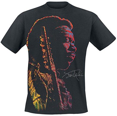 Jimi Hendrix Shadow T-Shirt nero XXL