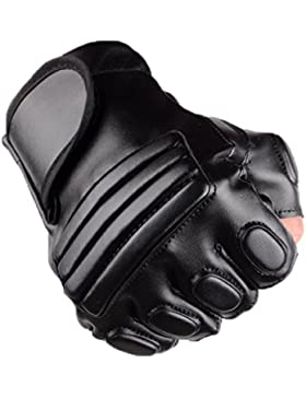 Guantes Hombres Semi-guantes Montar Al Aire Libre Deportes Fitness Protección