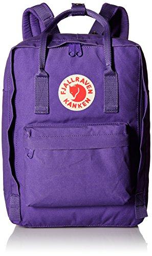 Fjällräven Kånken Laptop Rucksack 13 Zoll, violett (Purple), 35 x 25 x 16 cm, 13 Liter