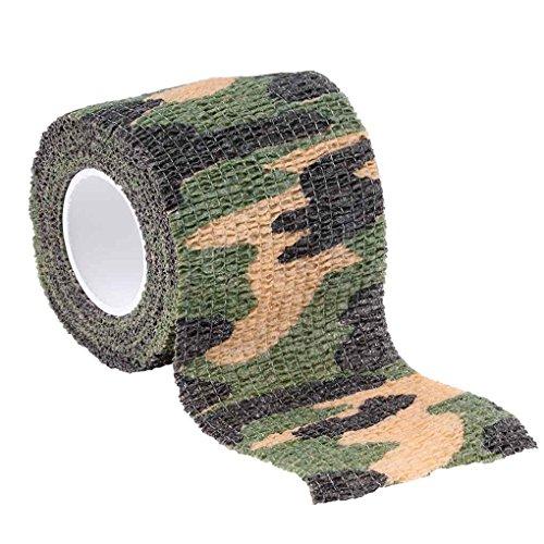 Preisvergleich Produktbild LUFA Elastische Tarnung Wasserdicht Wrap Tape-Außen Jagd Camping Stealth Camo Wrap Band Paintball Stretch-Verband