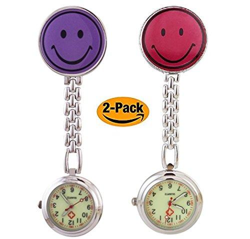 Kleidung & Accessoires Sonstige Krankenschwesteruhr Puls Nurse Watch Silikonhülle Kittel Pflege Quarz Uhr Grün