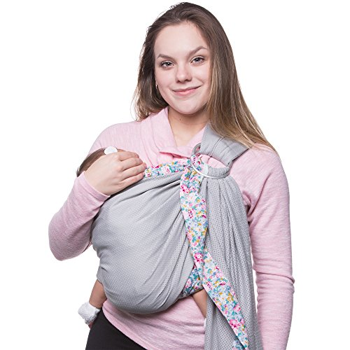 Sandesica Baby Wrap Carrier  100% Cotton Baby Sling Carrier for 0-18 Month c38e2c174ee