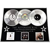Everythingcollectible The Notorious B.I.G/Triple Platinum Album Display/Ready TO Die + Life After