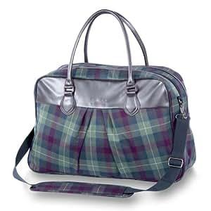 dakine rollen reisetasche satchel tartan 30 liter. Black Bedroom Furniture Sets. Home Design Ideas