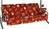 Angerer 785/081 Comfort-Schaukelauflage, 3-Sitzer Design Salerno