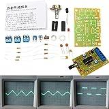 Bluelover Diy Icl8038 Función Generador De Señal Módulo Seno Cuadrado Onda Triángulo Salida Kit