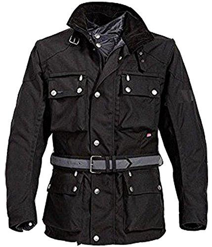 Neuen Männer Motorrad Motorradwasserdicht Wärmeschutzjacke, Farbe schwarz, M