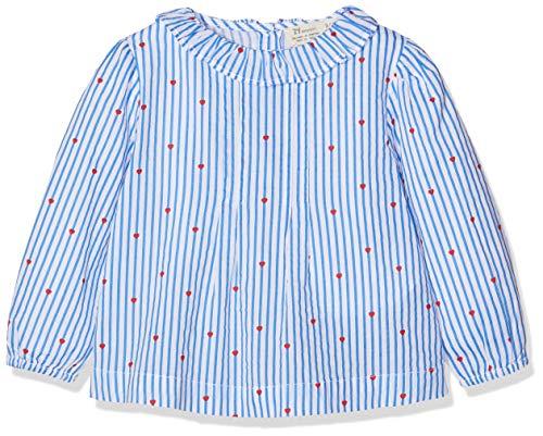ZIPPY ZTG0301_455_8 Blusa, Azul (Victoria Blue 720), ((Tamaño del Fabricante:12/18M) para Bebés