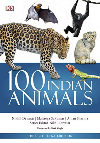 100 Indian Animals: The Big Little Nature Book