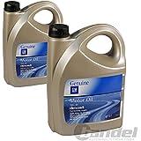 2x 5 L = 10 Liter Opel GM 5W-30 dexos2 dexos 2 Motor-Öl Motoren-Öl; Spezifikationen/Freigaben: ACEA A3/B4 + C3; BMW Longlife-04; API SM/CF; GM-LL-A-025 + GM-LL-B-025; VW 502 00, 505 00, 505 01; Merced