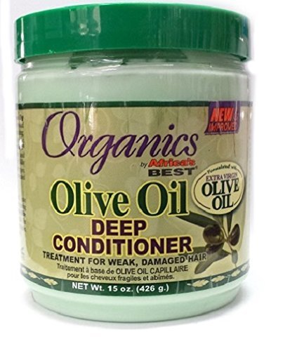 Africa's Best Organics Olive Oil Deep Conditioner, 15 Ounce by Africa's Best