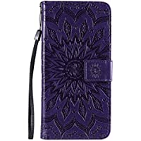 Funda de cuero para Oppo Reno4Pro 5G PU cuero magnético Flip Cover con ranuras para tarjetas Bookstyle Wallet Case para Oppo Reno4Pro 5G - JEKT033158 Púrpura