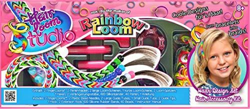 Rainbow Loom 494r0054Double Haar Loom Studio Zubehör-Set
