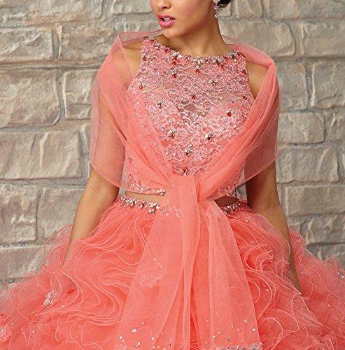 Bridal_Mall - Robe - ball gown - Femme Beige - Beige