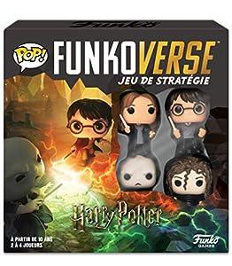 Funko- Black mag Funkoverse (4 Unidades) English Board Game, 43476, Multicolor